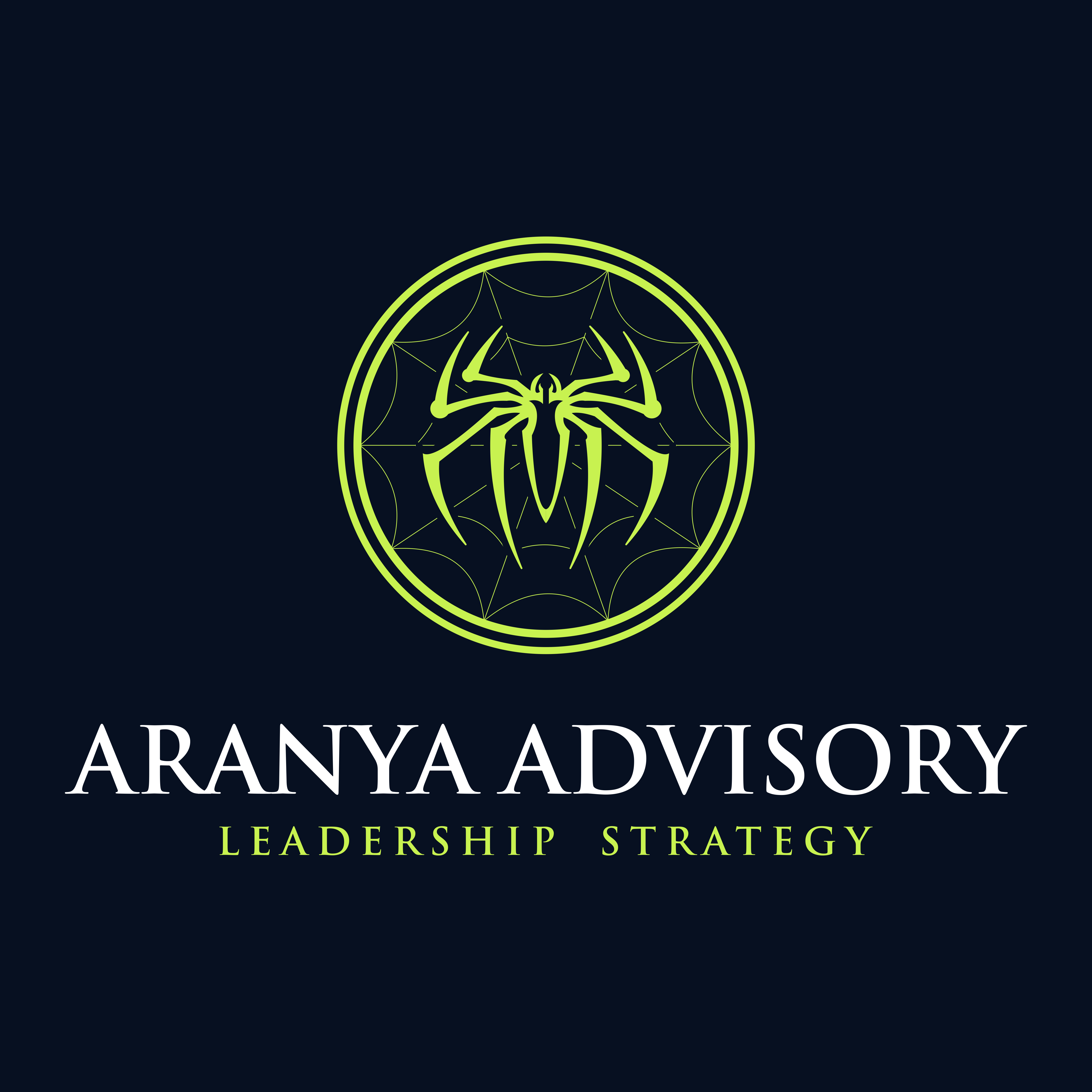 The Logo of Aranya Advisory. Our mission is to help small companies build a competitive advantage